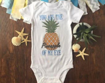 Pineapple Onesie® - beach onesie® - summer baby clothes - you are the best thing - nautical onesie® - tropical baby - baby girl - baby boy