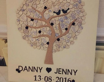 Guestbook Tree Canvas