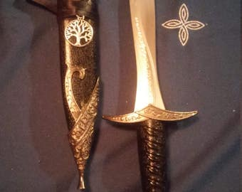 Roman Style Tree of Life Wiccan Athame