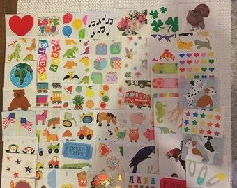 Huge! Mrs. Grossman Sticker Modules Lot