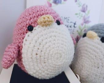 Crochet Penguin Amigurumi  |  Ponpon the Penguin