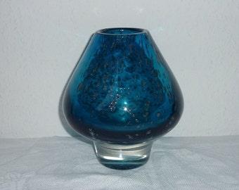 Vase Florida, 2.3 kilo, draft by Heinrich Spoon Hardt, Schott in Zwiesel