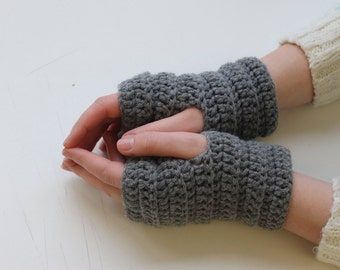 Fingerless Gloves, Arm warmers, Fingerless mittens, Crochet Gloves, Texting Gloves, Wrist Warmers, Crochet Arm Warmers, Girlfriend Gift,Gift