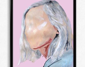 Noora + Willhem | Noorhelm | Skam |  Digital painting print (more to come)