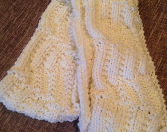 Child's Assymetrical Scarf