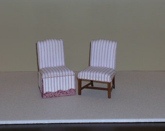A Pair of MINIATURE Side Chairs