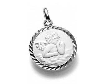 Guardian Angel pendant, 925 Silver Angel