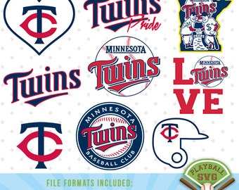 Minnesota Twins SVG files, baseball designs contains dxf, eps, svg, jpg, png and pdf files. PB-021