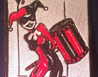 Harley Quinn, Queen of Diamonds Card Patch