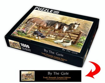 By The Gate 1000Pc Jigsaw Puzzle