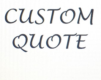 Custom Vinyl Decal/Custom Wall Quote Vinyl/Create Your Own Vinyl Decal/Personalized Decal/Custom Design/Make Your Own Decal/Custom Wall Deco