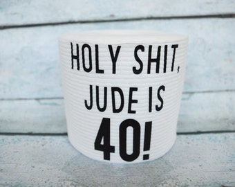 Personalized Toilet Paper / Funny Birthday Gift / Gag Gift / 40th birthday / 50th birthday / 60th birthday / birthday gag gift / joke gift