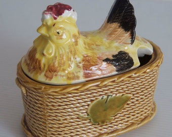 Beautiful Rossini Chicken in Basket Container, Japan