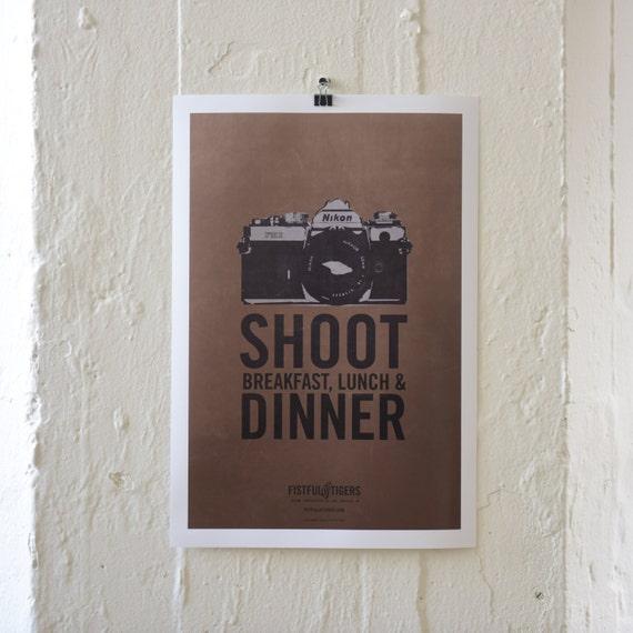 13X19 PRINT / SHOOT DINNER
