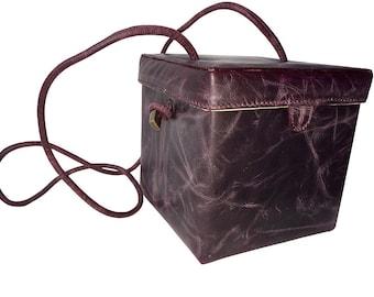 Smoky Orchid Rustico Box bag
