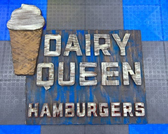 Dairy Queen Vintage Sign Recreation