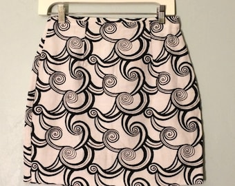 Psychedelic Spiral Skirt (M)
