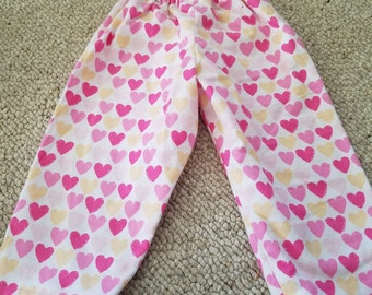Baby Pants - 12 months (hearts)