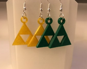 Loops doreilles Zelda triforce