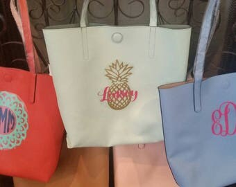 Huge Personalized, Reversible Tote Bag