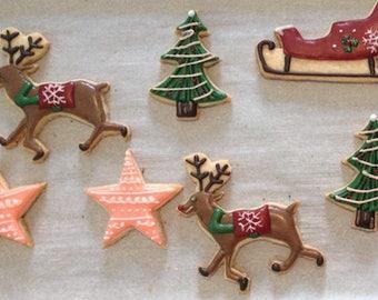 Custom cookies (Christmas)