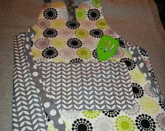 Kid's Apron-Reversible
