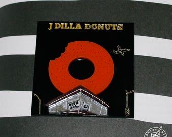 J Dilla Jay Dee Donuts - Album Artwork magnet