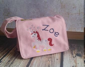 Unicorn Pink Nursery Bag