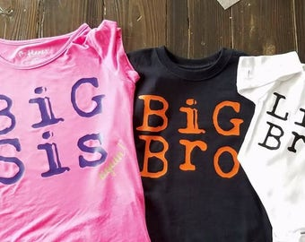 Big Bro, Big Sis Shirts