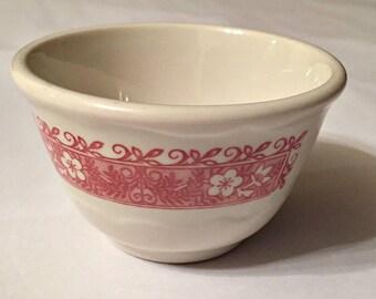 Syracuse China Strawberry Hill Custard Bowl
