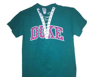 Duke University custom recycled tshirt