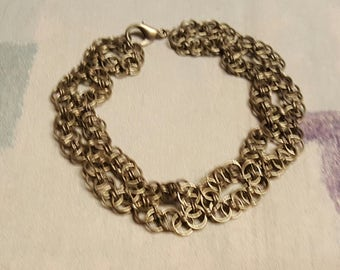 Bronze Celtic knots bracelet