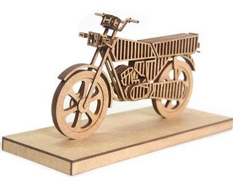 Motorcycle sculpture etsy for Schreibtisch 3d modell