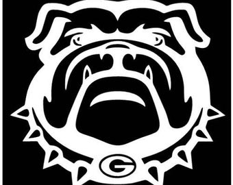 University of Georgia Bulldogs decal sticker