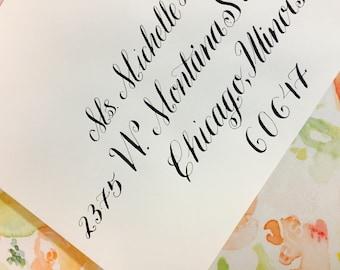 Wedding Envelope Calligraphy | Calligraphy Envelope Addressing | Calligraphy Services | Handwritten Envelope Calligraphy | Special Occasion
