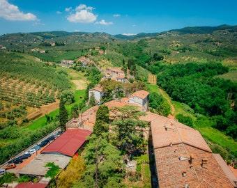 Tuscany Photography Italy, Tuscany Landscape, Rolling Hills of Tuscany Italy, Italy Photography, Vinci Italy