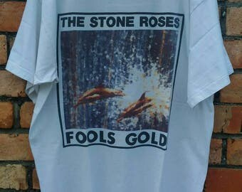 Vintage stone roses fools gold shirt