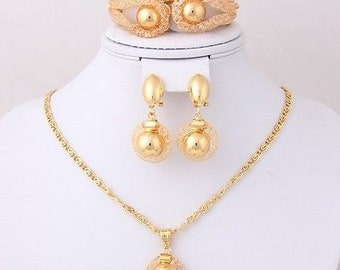African Inspired Jewelry Set