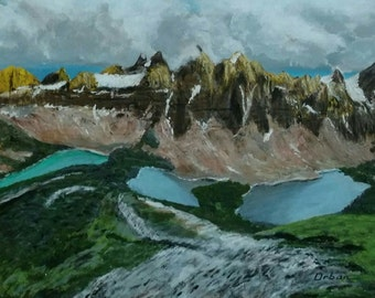 Canadian Rockies & 3 Ponds