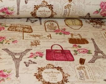 Vintage Paris Cotton Canvas