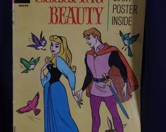 Sleeping Beauty Walt Disney vintage 1950's comic book