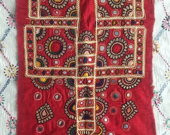 Hand-embroidered Kutch work from Sindh, Pakistan