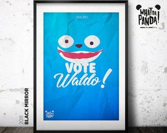 Black Mirror - Vote Waldo!