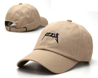 beige yeezus baseball cap