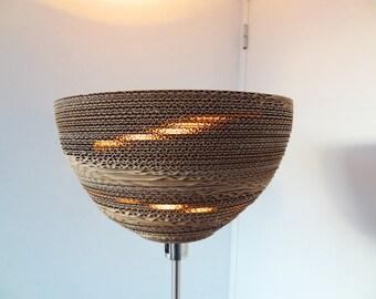 EDMUND | Handmade Cardboard Floor Lamp