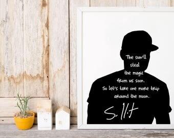 "Sam Hunt ""The Sun'll Steal"" Art Print"
