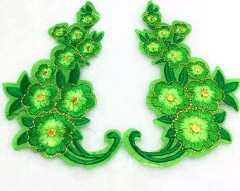 Beautiful  EMBROIDER APLIQUE IRON Or Sew On