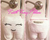 Tooth Fairy Pillow Crochet Pattern-Instant Download