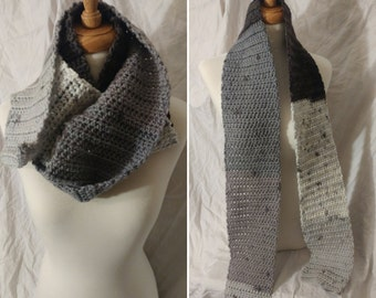 Scarf - Stormy Day - Ready to Ship