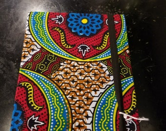 Kitenge covered notebook